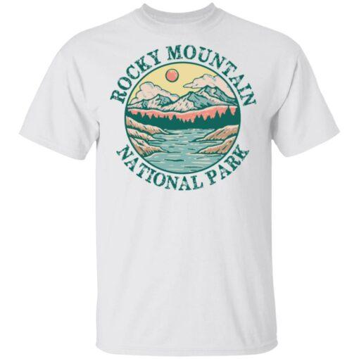 Rocky mountain national park vintage shirt $19.95 redirect03302021040339