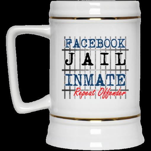 Facebook jail inmate repeat offender mug $14.95 redirect03302021040345 2