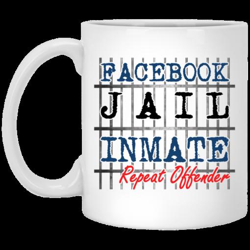 Facebook jail inmate repeat offender mug $14.95 redirect03302021040345
