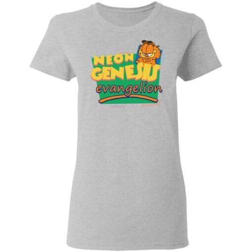 Neon genesis Evangelion Garfield shirt $19.95 redirect04012021210429 3