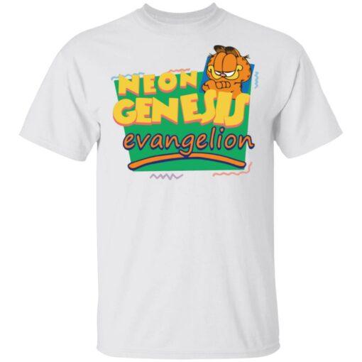 Neon genesis Evangelion Garfield shirt $19.95 redirect04012021210429