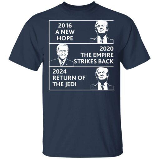 2016 a new hope 2020 the empire strikes back Trump Biden shirt $19.95 redirect04022021220434 1