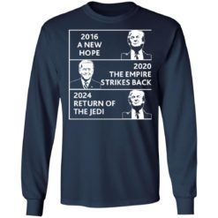 2016 a new hope 2020 the empire strikes back Trump Biden shirt $19.95 redirect04022021220434 5
