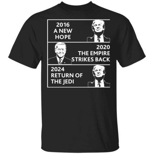 2016 a new hope 2020 the empire strikes back Trump Biden shirt $19.95 redirect04022021220434
