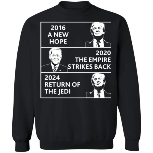 2016 a new hope 2020 the empire strikes back Trump Biden shirt $19.95 redirect04022021220434 8