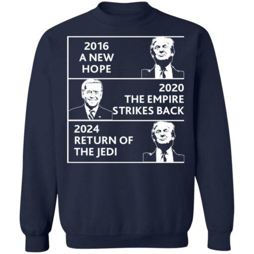 2016 a new hope 2020 the empire strikes back Trump Biden shirt $19.95 redirect04022021220434 9