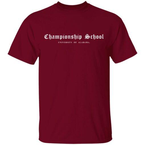 Championship School University of Alabama shirt $19.95 redirect04052021000400 2