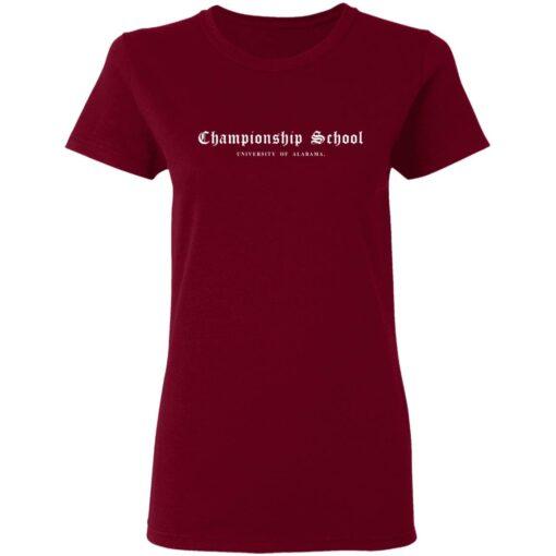 Championship School University of Alabama shirt $19.95 redirect04052021000400 4