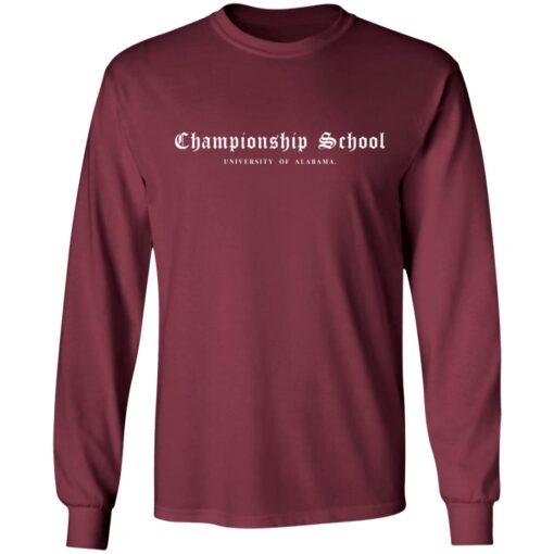 Championship School University of Alabama shirt $19.95 redirect04052021000400 6