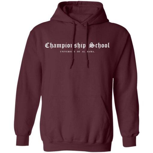 Championship School University of Alabama shirt $19.95 redirect04052021000400 8