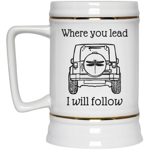 Jeep where you lead i will follow mug $14.95 redirect04122021000406 3
