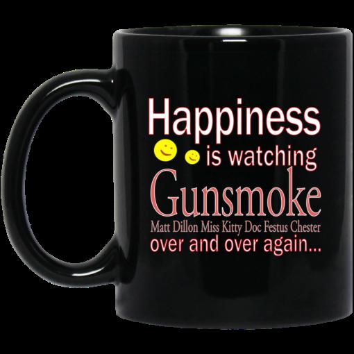 Happiness is watching Gunsmoke mug $15.99 redirect04122021010413