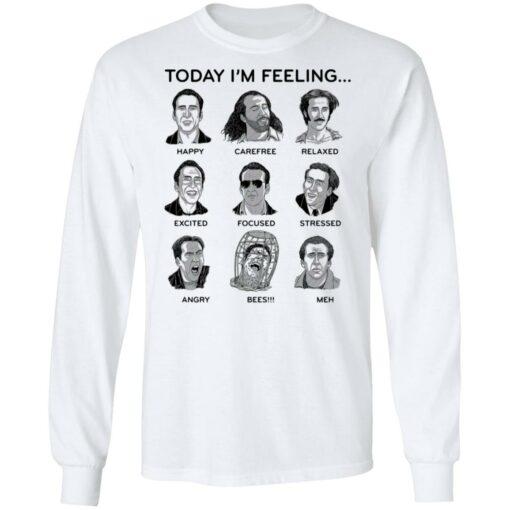 Nicolas cage today i'm feeling shirt $19.95 redirect04122021040441 5
