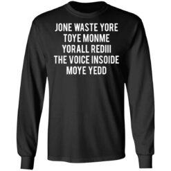 Jone waste your time shirt $19.95 redirect04152021230431 4