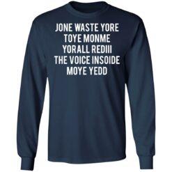 Jone waste your time shirt $19.95 redirect04152021230431 5