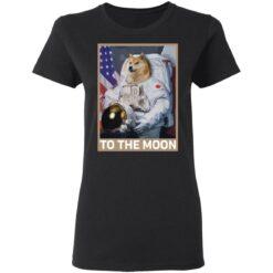 Dogecoin Astronaut to the Moon Blockchain Crypto shirt $19.95 redirect04162021000447 2
