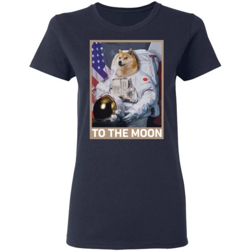Dogecoin Astronaut to the Moon Blockchain Crypto shirt $19.95 redirect04162021000447 3