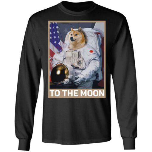 Dogecoin Astronaut to the Moon Blockchain Crypto shirt $19.95 redirect04162021000447 4