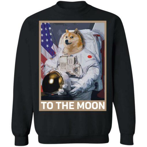 Dogecoin Astronaut to the Moon Blockchain Crypto shirt $19.95 redirect04162021000447 8