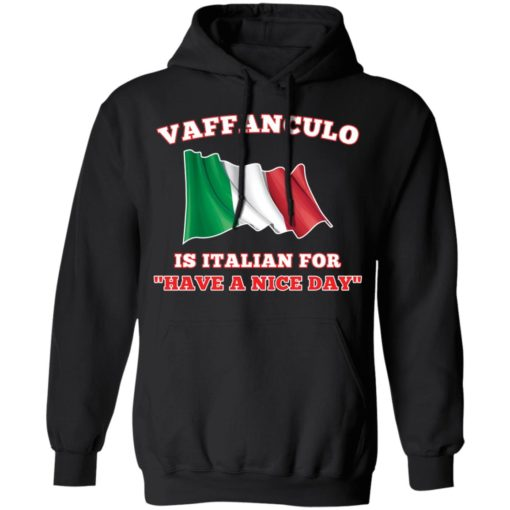 Vaffanculo is Italian for have a nice day shirt $19.95 redirect04162021020429 6