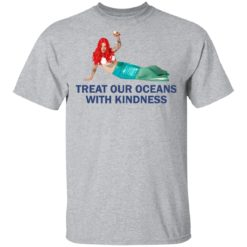 Harry Styles Mermaid Treat our oceans with kindness shirt $19.95 redirect04182021220431 1