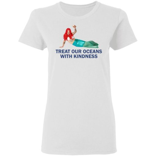 Harry Styles Mermaid Treat our oceans with kindness shirt $19.95 redirect04182021220431 2