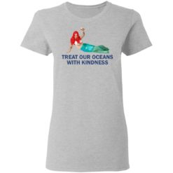 Harry Styles Mermaid Treat our oceans with kindness shirt $19.95 redirect04182021220431 3