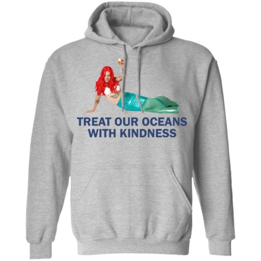 Harry Styles Mermaid Treat our oceans with kindness shirt $19.95 redirect04182021220431 6