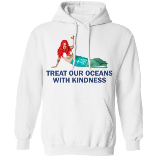 Harry Styles Mermaid Treat our oceans with kindness shirt $19.95 redirect04182021220431 7