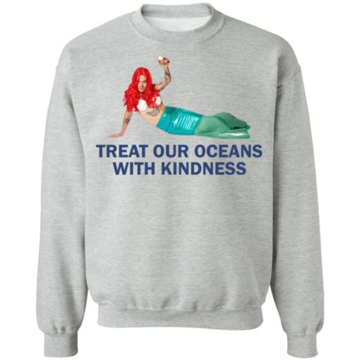Harry Styles Mermaid Treat our oceans with kindness shirt $19.95 redirect04182021220431 8