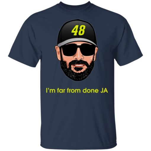 Jimmie Johnson I'm far from done JA shirt $19.95 redirect04182021230443 1