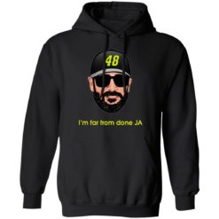 Jimmie Johnson I'm far from done JA shirt $19.95 redirect04182021230443 6