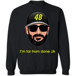 Jimmie Johnson I'm far from done JA shirt $19.95 redirect04182021230443 8
