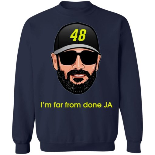 Jimmie Johnson I'm far from done JA shirt $19.95 redirect04182021230443 9