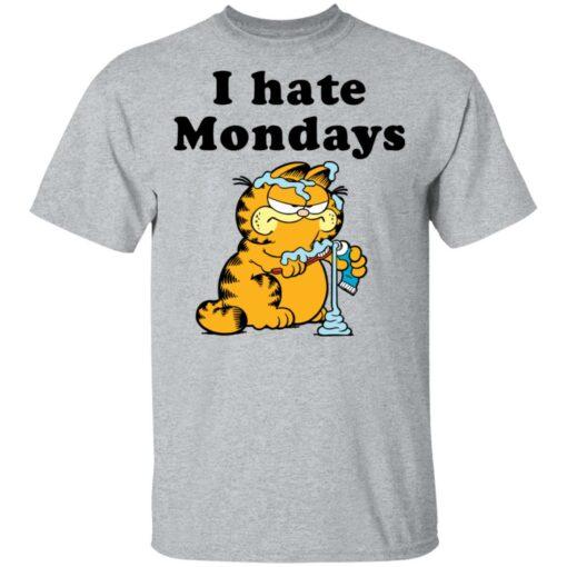 Garfield i hate mondays shirt $19.95 redirect04192021230408 1