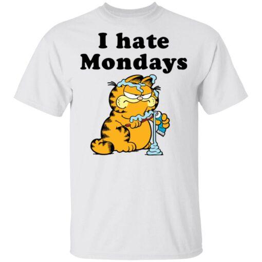Garfield i hate mondays shirt $19.95 redirect04192021230408