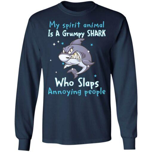 My spirit animal is a grumpy shark who slaps annoying people shirt $19.95 redirect04202021010441 2