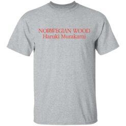 Norwegian wood Haruki Murakami shirt $19.95 redirect04202021230423 1