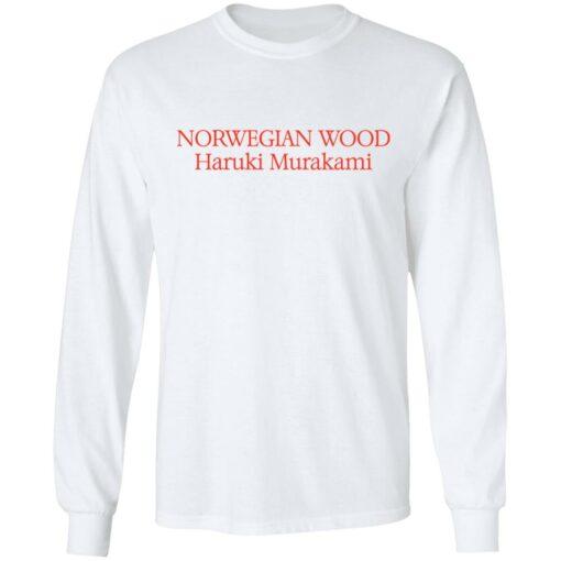 Norwegian wood Haruki Murakami shirt $19.95 redirect04202021230423 5