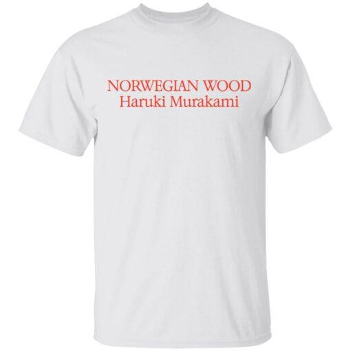 Norwegian wood Haruki Murakami shirt $19.95 redirect04202021230423