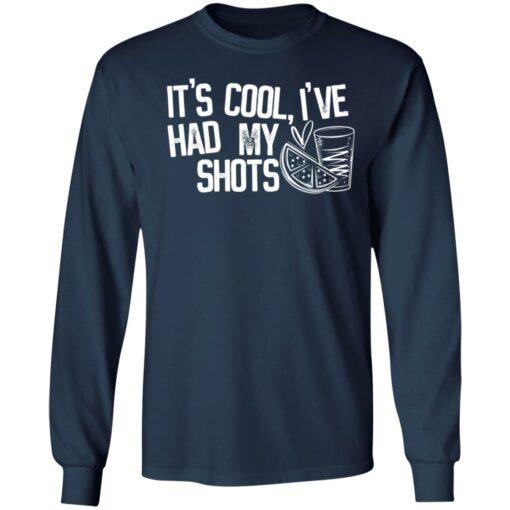 It's cool i've had my shots shirt $19.95 redirect04202021230435 1