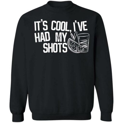 It's cool i've had my shots shirt $19.95 redirect04202021230435 4