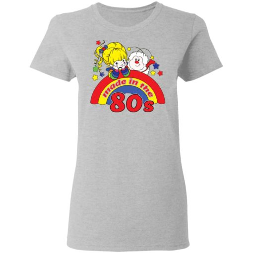Womens rainbow Brite made in the 80s fitted shirt $19.95 redirect04212021230433 3