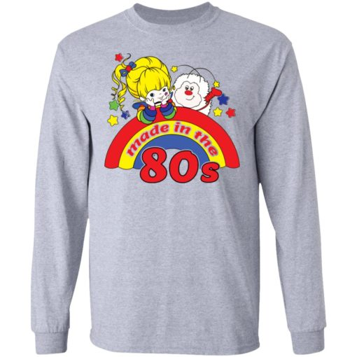 Womens rainbow Brite made in the 80s fitted shirt $19.95 redirect04212021230433 4