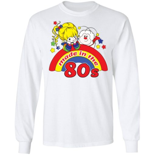 Womens rainbow Brite made in the 80s fitted shirt $19.95 redirect04212021230433 5