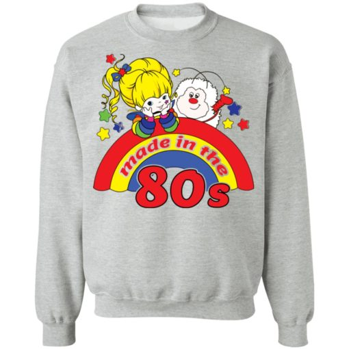 Womens rainbow Brite made in the 80s fitted shirt $19.95 redirect04212021230433 8