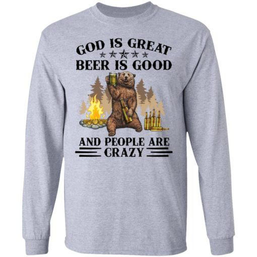 God is great beer is good and people are crazy shirt $19.95 redirect04222021050451 4