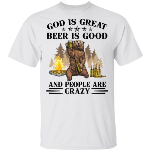 God is great beer is good and people are crazy shirt $19.95 redirect04222021050451