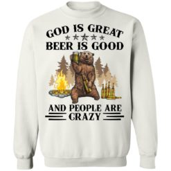 God is great beer is good and people are crazy shirt $19.95 redirect04222021050451 9