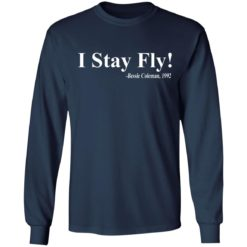 I Stay Fly Bessie Coleman 1992 shirt $19.95 redirect04222021200418 5